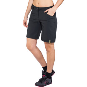 Ziener Colodri X-Function fietsbroek kort Dames, black